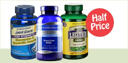 Vits & Supplements Half Price