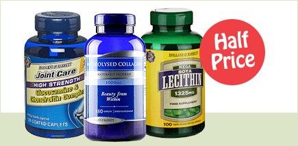 Vits & Supplements Half Price