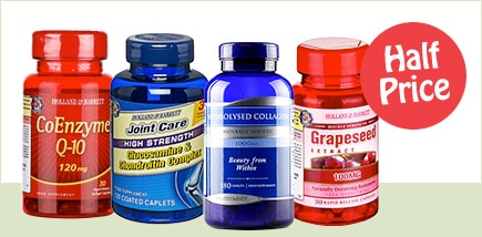 Half Price Vitamins and Supplements