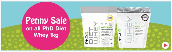 PhD Diet Whey Penny Sale