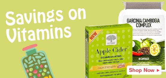 Great Savings On Vitamins & Supplements