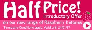 Raspberry Ketones Intro Offer