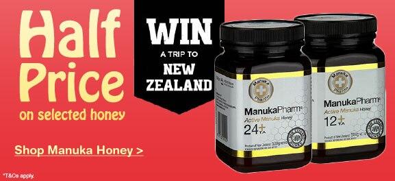 Half Price Manuka Honey