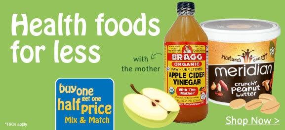 Buy One Get One Half Price Vitamins