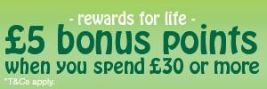 Bonus Points Offers
