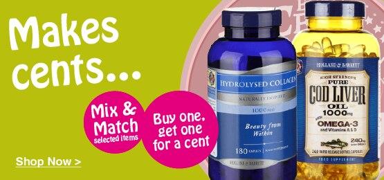 Cent Sale Vitamins & Supplements