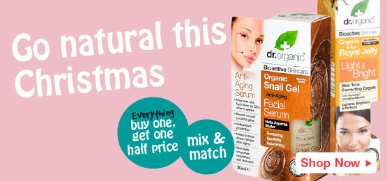 Buy one get one half price on all dr organic