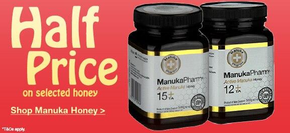 Selected Manuka Honey Half Price