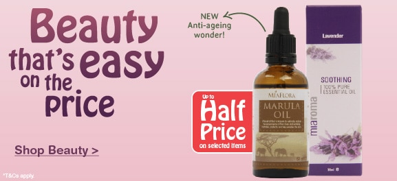 Selected Natural Beauty Half Price