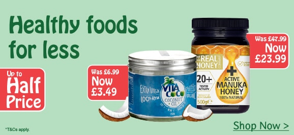 up to half price food drink