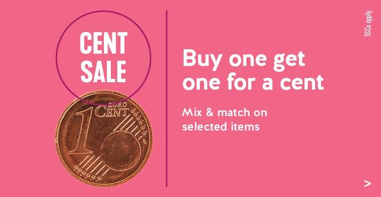 cent sale