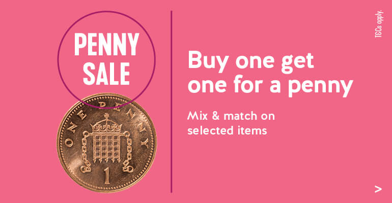 Buy One Get One for a Penny