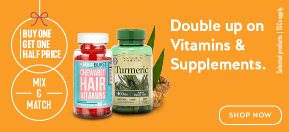 buy-one-get-one-half-price Vitamins and Supplements