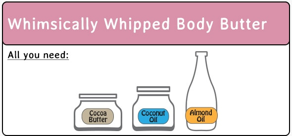 Whimsically Whipped Body Butter Ingredients