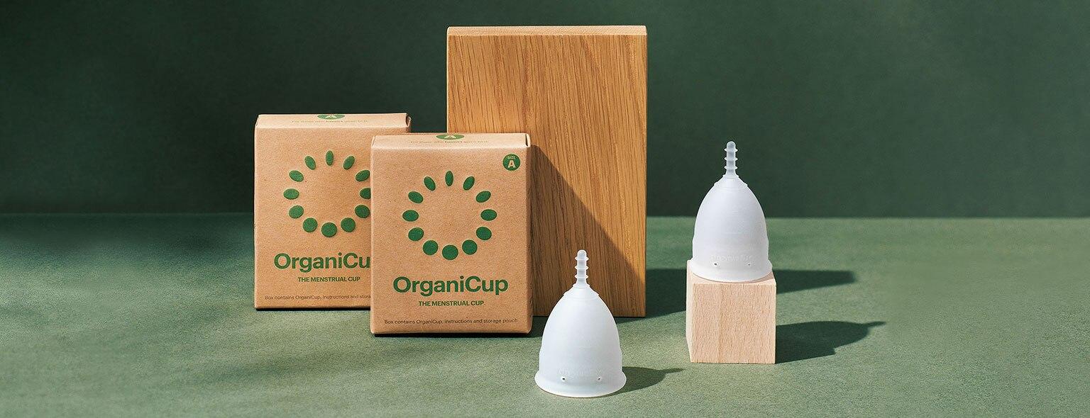 OrganiCup: gemakkelijk, gezond en milieuvriendelijk