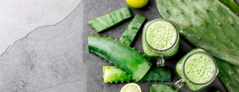 Aloe vera smoothie