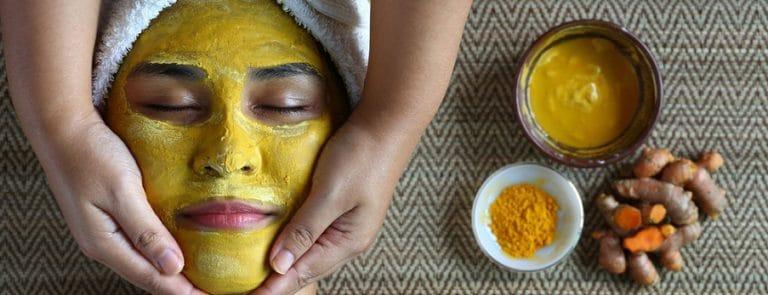 kurkuma gezichtsmasker
