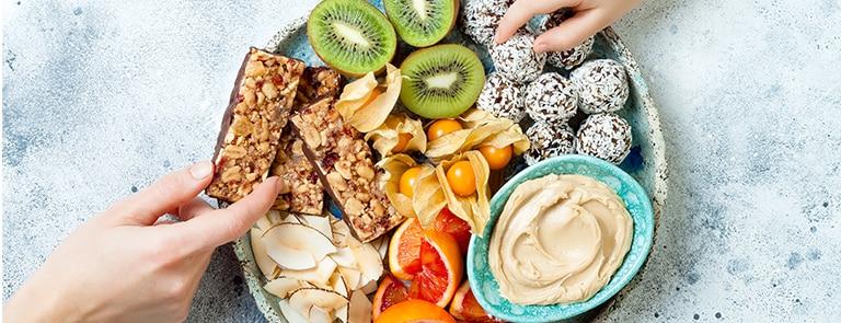 Gezonde snacks: onze favoriete gezonde tussendoortjes