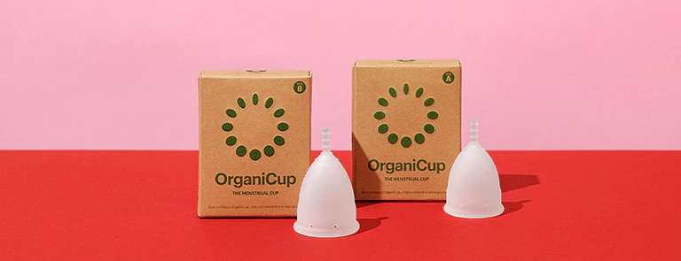 Start jouw #NewPeriod met OrganiCup: makkelijker, gezonder en duurzamer