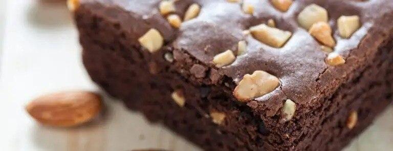 Vegan Nutty Chocolate Brownies