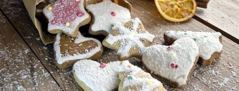 Gluten free festive biscuits