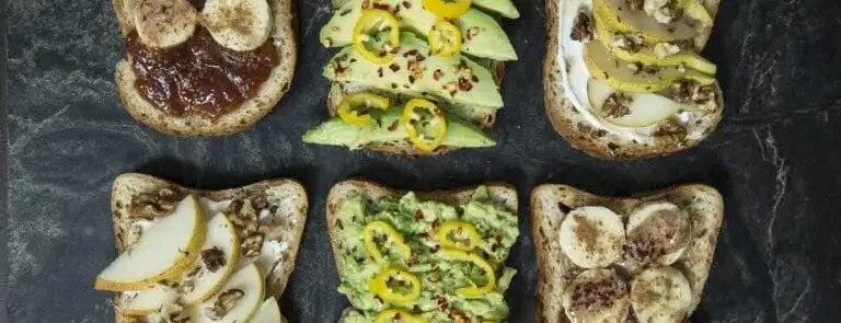 3 Easy gluten-free open sandwiches