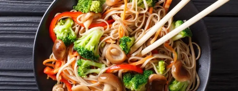 Vegan noodles: What they're made from & how to make them
