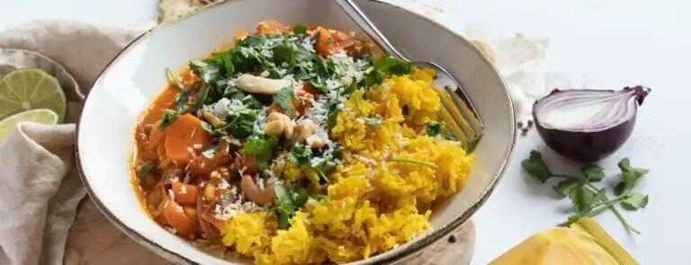 Vegan turmeric superblend curry