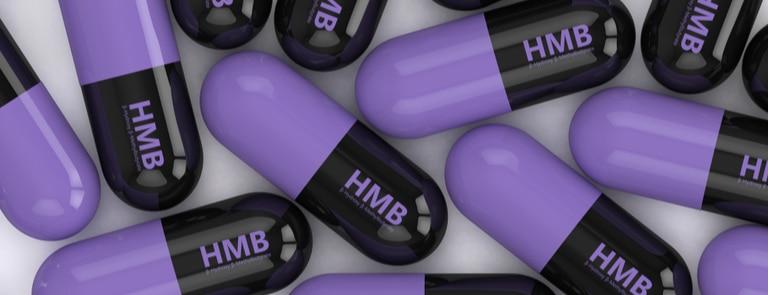 closeup of hmb supplements