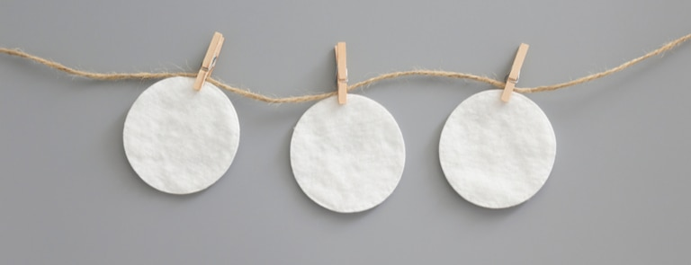 Reusable cotton pads image