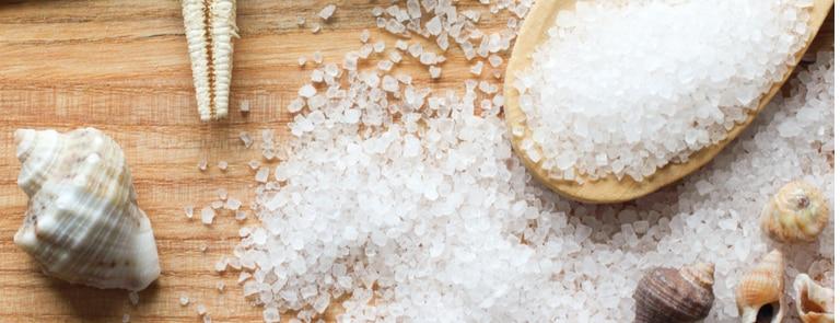 The benefits of using sea salt image