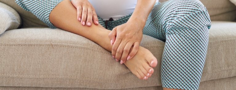 What causes swollen feet and ankles and how to avoid them image