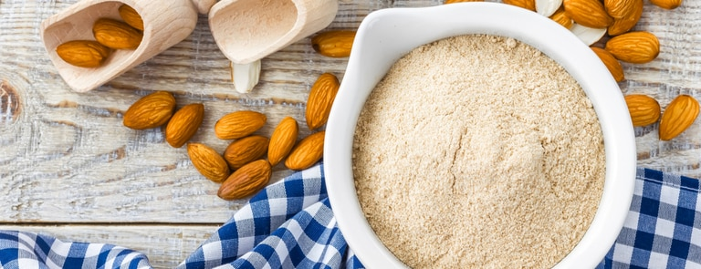 What is almond flour? image