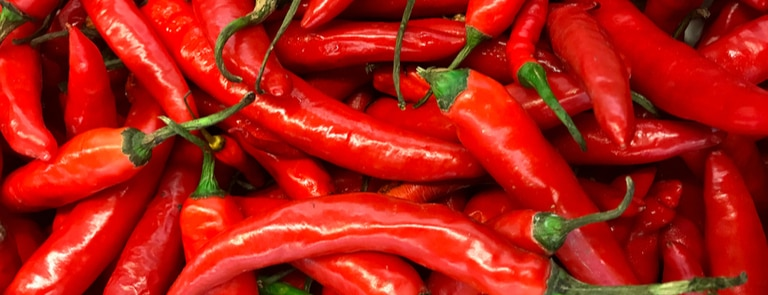 Health benefits of chillies image