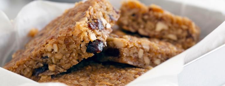 Low sugar & low calorie flapjack recipe image