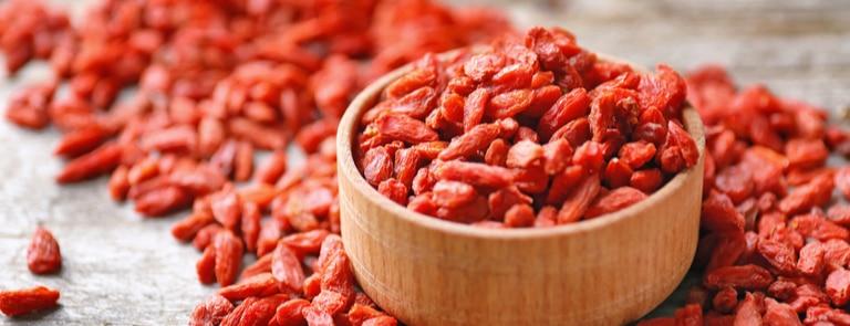 Goji berries skin benefits image