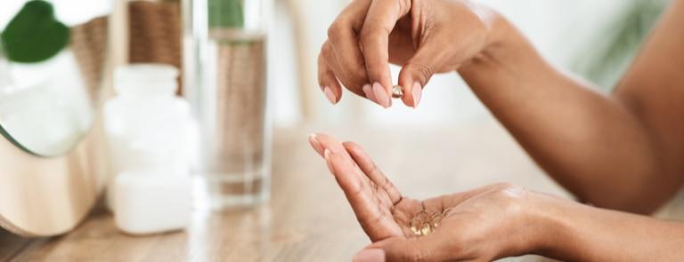 Omega 3 benefits for skin, hair & nails image
