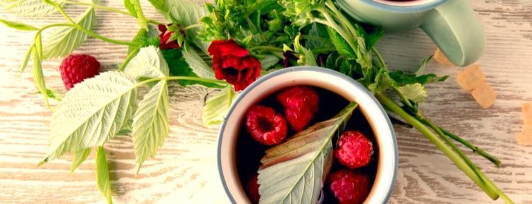 Raspberry leaf tea benefits image