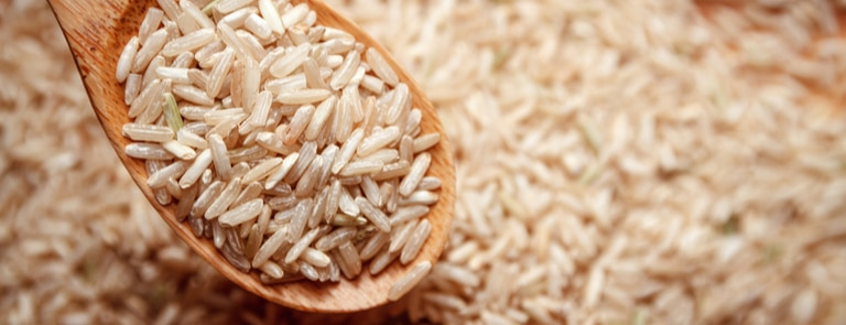 Brown rice - types, calories & benefits image