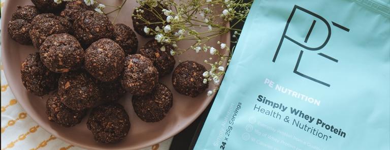 energy ball healthy snack recipe