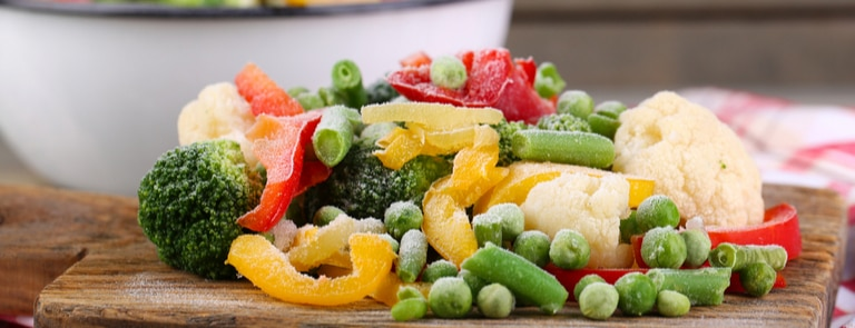 healthy processed foods frozen vegetables healthy