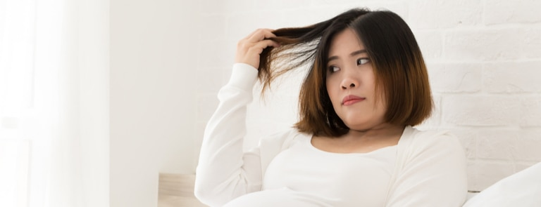 Pregnancy hair loss - what can you do about it