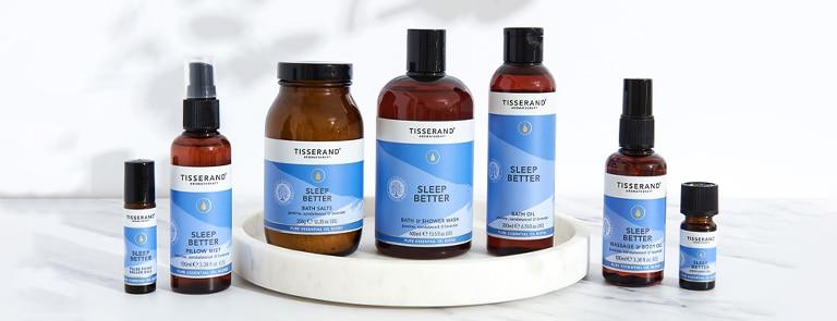 Tisserand sleep better range