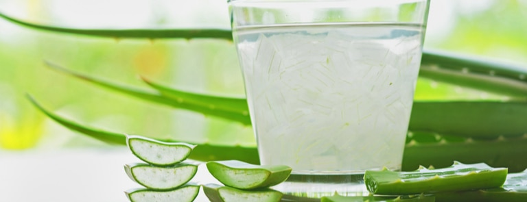 What are the benefits of drinking aloe vera juice? image