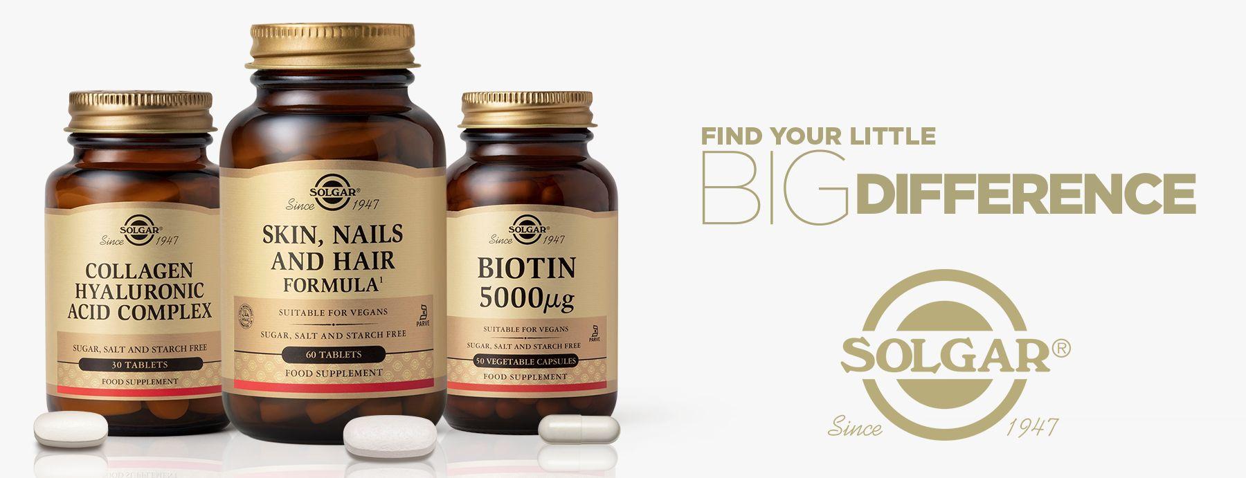 solgar hair skin and nails supplements