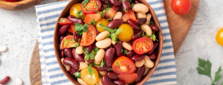 vegetarian bowl salad