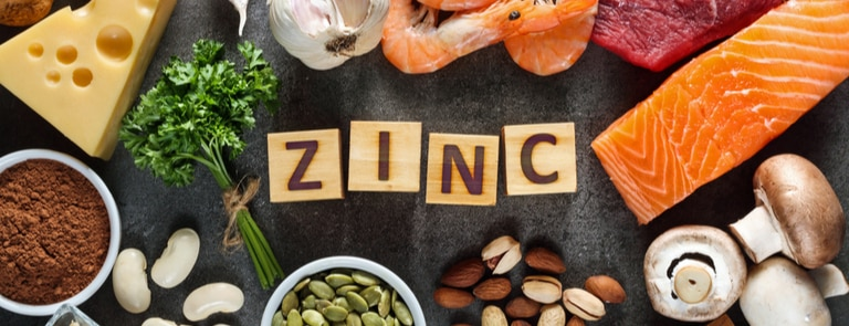 different forms of zinc