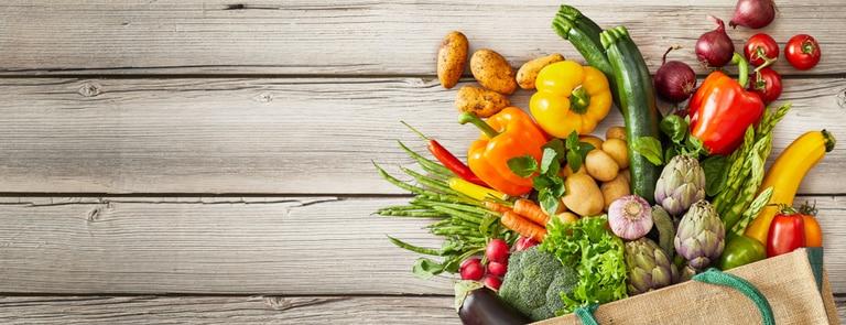 Vegan shopping list essentials image