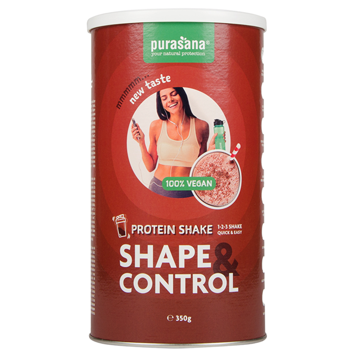 Purasana Vegan Protein Shake Chocolade (350gr)