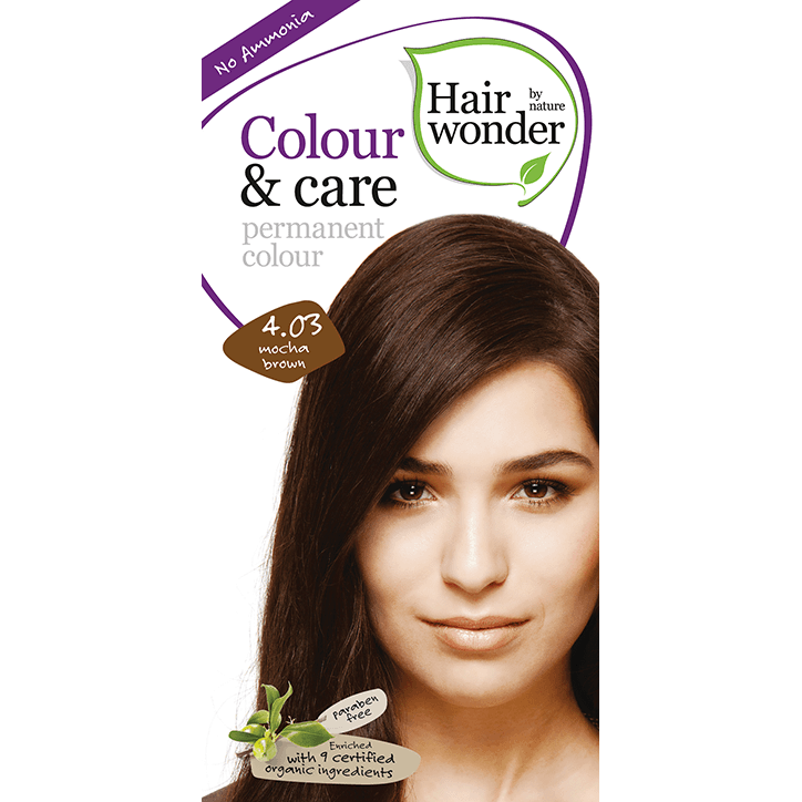 Hairwonder Colour & Care Mocha Brown 4.03